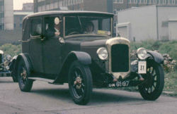 1926 Austin 12 Fabric Saloon